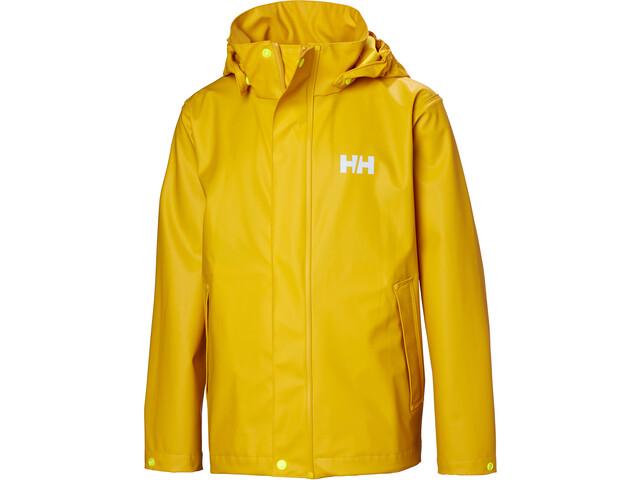 newest d5e22 d5493 Helly Hansen Moss Jacke Kinder essential yellow